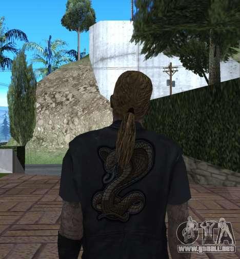 New Wmycr para GTA San Andreas quinta pantalla