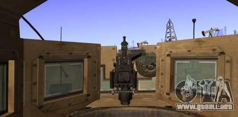 M-ATV из de Call of Duty: Ghosts para vista lateral GTA San Andreas