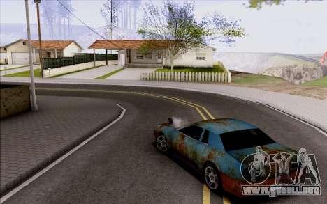 Elegy by Swizzy para GTA San Andreas vista hacia atrás
