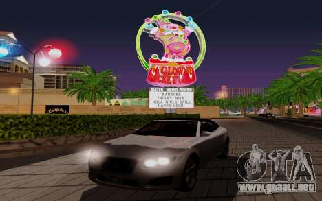 GTA 5 Lampadati Felon GT V1.0 para visión interna GTA San Andreas