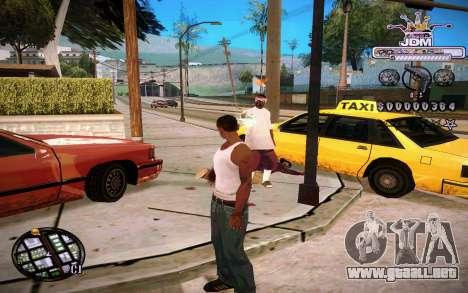 C-HUD JDM para GTA San Andreas segunda pantalla