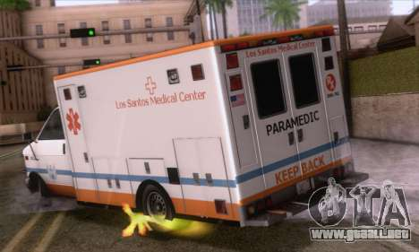 GTA 5 Ambulance para GTA San Andreas left