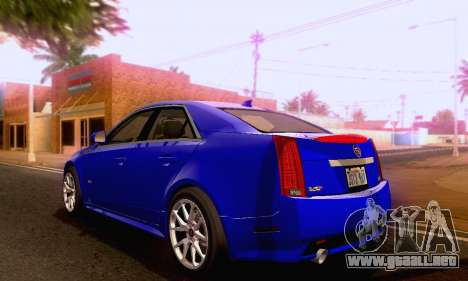 Cadillac CTS-V Sedan 2009-2014 para GTA San Andreas left