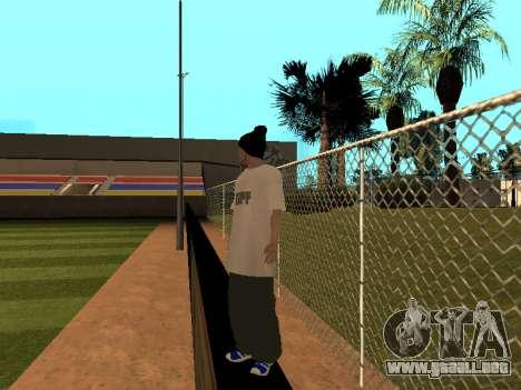 La piel Trazador GPF Equipo para GTA San Andreas