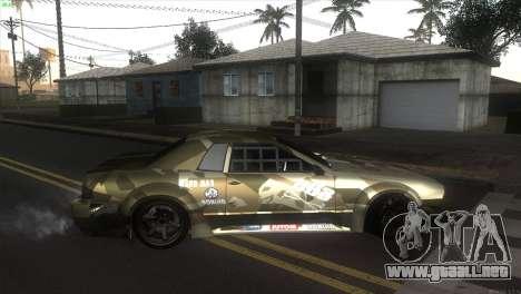 Elegy Fail Crew by Black para GTA San Andreas left