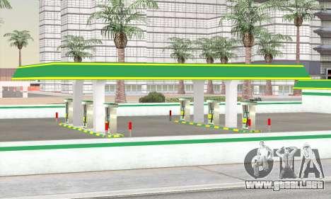 El relleno en el estilo de WOG para GTA San Andreas sucesivamente de pantalla