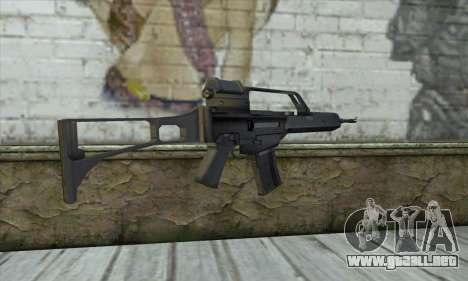 HK G36 para GTA San Andreas segunda pantalla