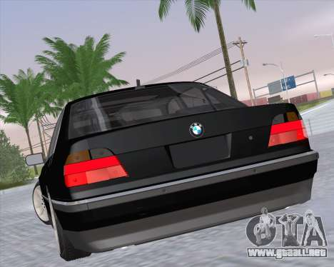 BMW 7-series E38 para GTA San Andreas left
