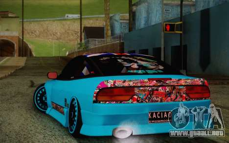 Nissan 240SX Drift Stance para la visión correcta GTA San Andreas