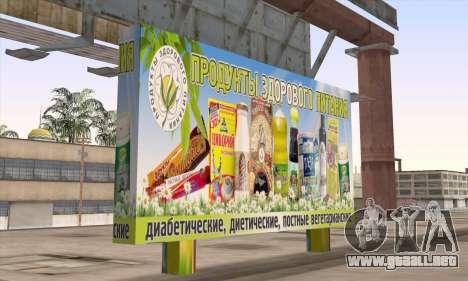 Tienda De Alimentos Saludables para GTA San Andreas segunda pantalla