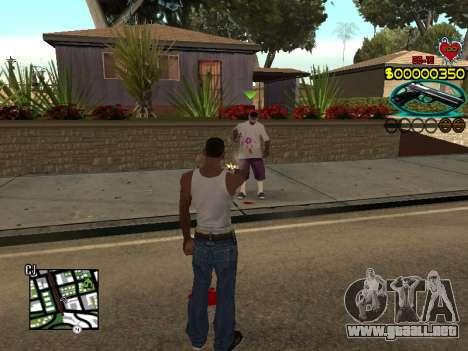 C-HUD Guns para GTA San Andreas sucesivamente de pantalla