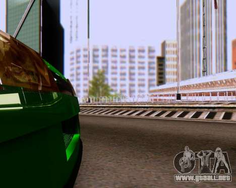 VAZ 2108 Sintonizable para vista inferior GTA San Andreas