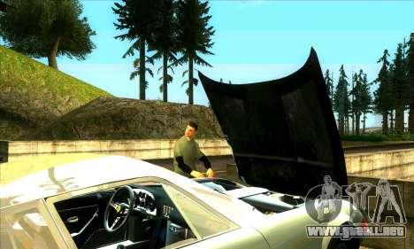 Situación de la vida v2.0 para GTA San Andreas sucesivamente de pantalla