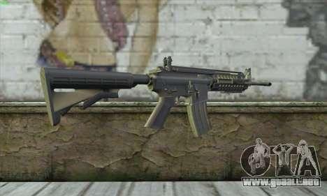 M4A1 S - System para GTA San Andreas segunda pantalla