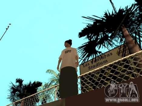 La piel Trazador GPF Equipo para GTA San Andreas segunda pantalla