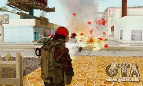 Blood On Screen para GTA San Andreas