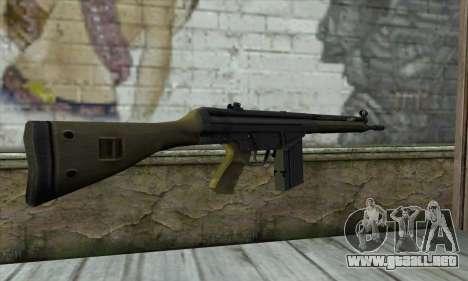 G3A3 para GTA San Andreas segunda pantalla