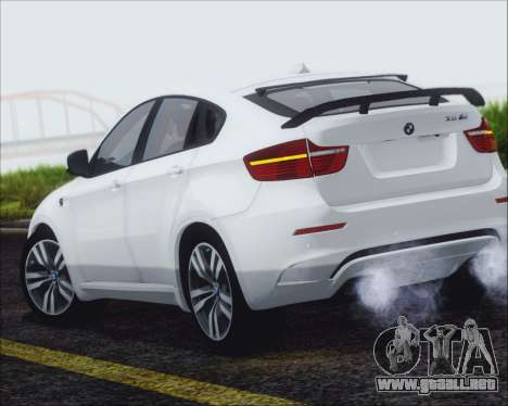 BMW X6 M 2013 Final para GTA San Andreas left