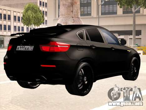 BMW X6 Hamann para el motor de GTA San Andreas