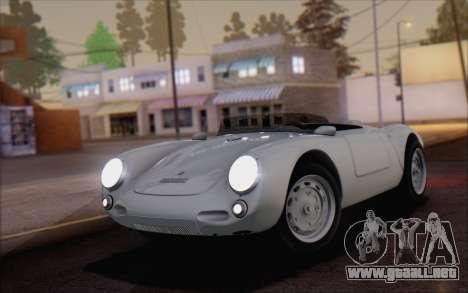 Porsche 550 Spyder 1955 para GTA San Andreas