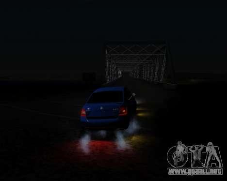 Skoda Octavia A7 RS para visión interna GTA San Andreas