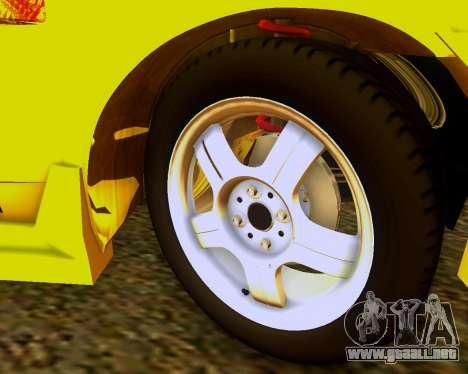 VAZ 2108 Sintonizable para la visión correcta GTA San Andreas