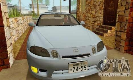 Lexus SC300 v1.01 [ImVehFT] para visión interna GTA San Andreas