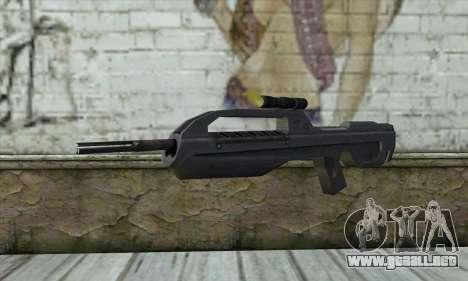 Halo 2 Battle Rifle para GTA San Andreas
