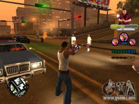 C-HUD Michael (GTA V) para GTA San Andreas sexta pantalla