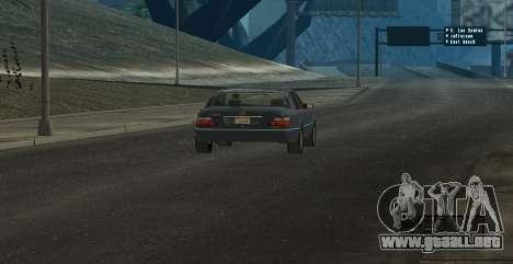 ENB Series for SA:MP para GTA San Andreas quinta pantalla