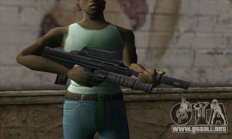 SC-20K Assault Rifle para GTA San Andreas tercera pantalla