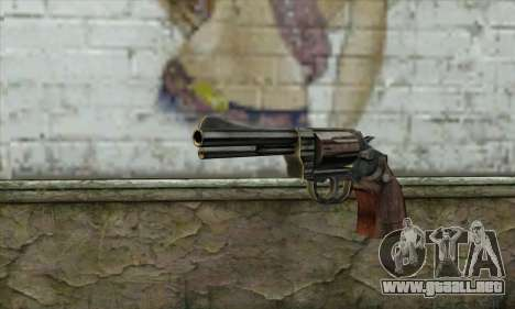 ManHunt revolver para GTA San Andreas