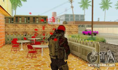 Blood On Screen para GTA San Andreas tercera pantalla