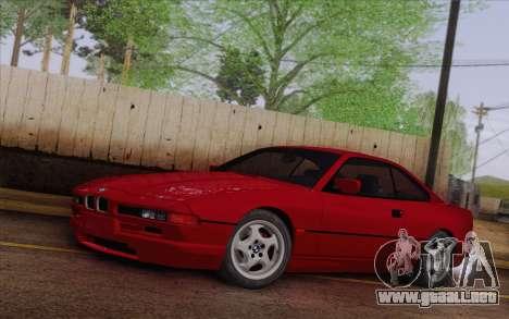 BMW 850CSi E31 1996 para GTA San Andreas
