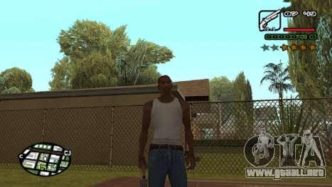 Fuente nueva V.2 para GTA San Andreas octavo de pantalla