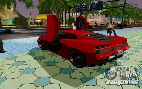 GTA 5 Pegassi Vacca para la vista superior GTA San Andreas