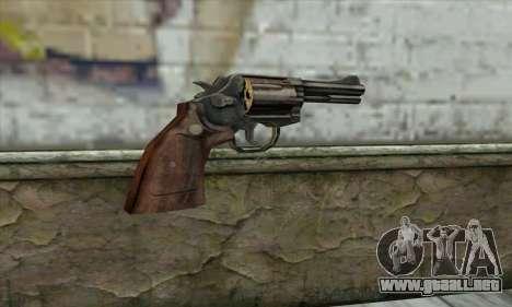 ManHunt revolver para GTA San Andreas segunda pantalla