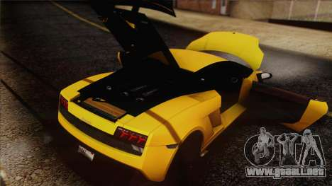 Lamborghini Gallardo LP570-4 Edizione Tecnica para el motor de GTA San Andreas