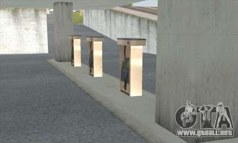 El relleno en el estilo de WOG para GTA San Andreas novena de pantalla