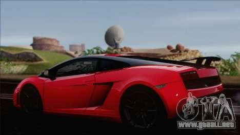 Lamborghini Gallardo LP570-4 Edizione Tecnica para GTA San Andreas left