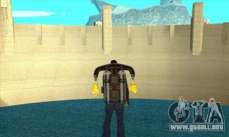 Nueva represa Sherman para GTA San Andreas segunda pantalla