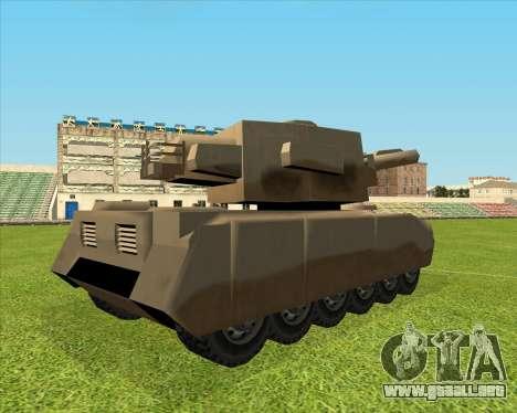 Rhino tp. Destructivo V.2 para la visión correcta GTA San Andreas