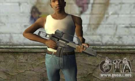 HK G36 para GTA San Andreas tercera pantalla