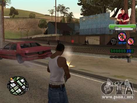 C-HUD Michael (GTA V) para GTA San Andreas segunda pantalla