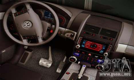 Volkswagen Touareg 2010 para GTA San Andreas vista hacia atrás