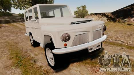 Rural Willys para GTA 4