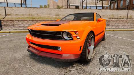GTA V Vapid Dominator wheels v2 para GTA 4