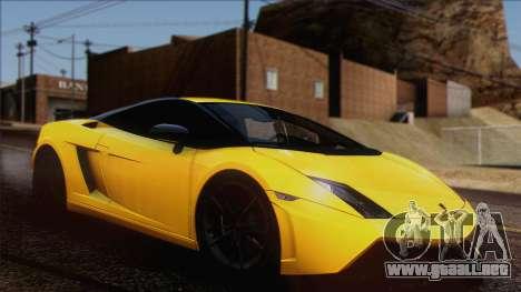Lamborghini Gallardo LP570-4 Edizione Tecnica para visión interna GTA San Andreas