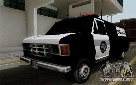 S.W.A.T van para GTA San Andreas