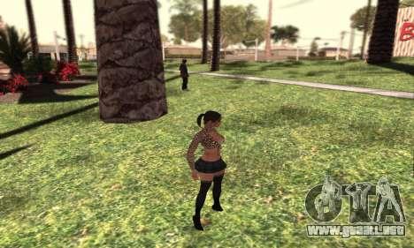 SHFYPRO HD para GTA San Andreas segunda pantalla